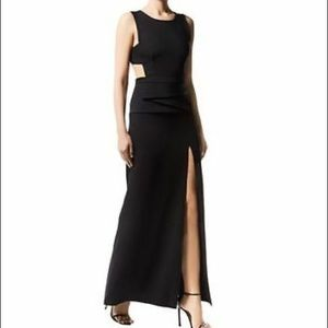 BCBG Max Azria Kiara peplum gown, Sz6